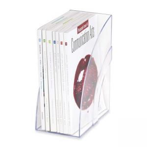 Rubbermaid Deluxe Magazine File - Clear