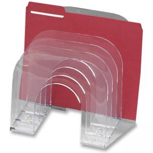 Rubbermaid Jumbo Incline Sorter -  1 Each - Clear