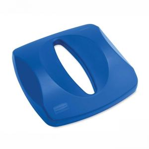 Rubbermaid Paper Recycling Center Lid - Blue