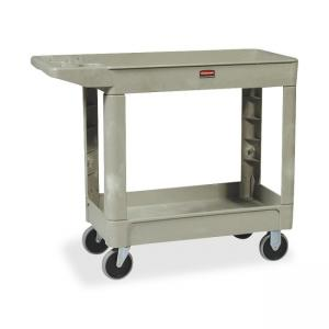 "Rubbermaid Two Shelf Service Cart - 39.5"" x 18"" x 33"""
