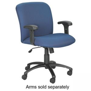 "Safco Big and Tall Executive Mid-Back Chair - 26"" Width x 26"" Depth x 41.75 Height"
