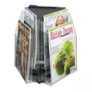 "Safco Literature / Magazine Sorter and Rack - 14"" Height x 15"" Width x 15"" Depth"