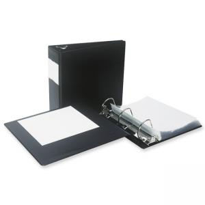 Samsill Antimicrobial D-Ring Binder With Label Holder