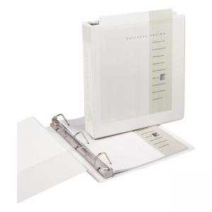 "Samsill Antimicrobial D-Ring Binder - 3 x D Shape - 1.50"" Capacity"