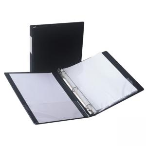 Samsill Antimicrobial Locking Round Ring Binder