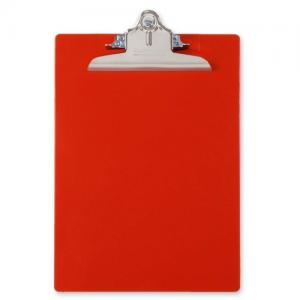 Saunders Recycled Antimicrobial Clipboard - Red - 1 Each