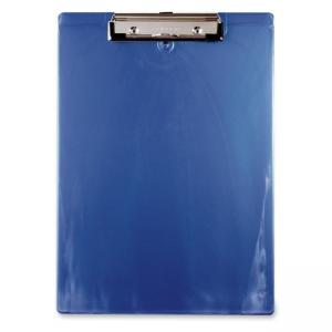 Saunders Recycled Clipboard - Ice Blue - 1 Each - Ice Blue