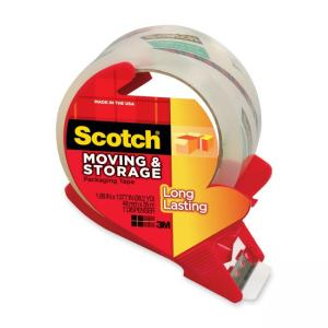 Scotch Mailing and Storage Tape - 4 / Pack - Clear