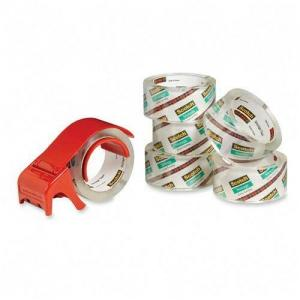 Scotch Packaging Tape - 6 / Pack - 55 yds