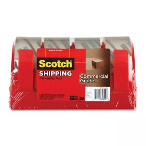 Scotch  Packaging Tape - 4 / Pack - Clear