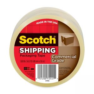 Scotch Premium Heavy Duty Packaging Tape - 1 Roll - Clear