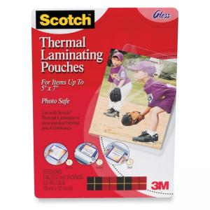 Scotch TP590320 Thermal Laminating Pouch - 20 / Pack - Clear