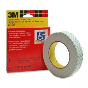 Scotch Double-Coated Foam Tape - 1 Roll - Off-white