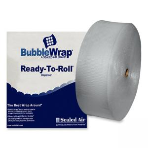 "Sealed Air Bubble Wrap - 12"" Width x 250 ft Length x 188 mil Thickness  - Clear - 1 Roll"