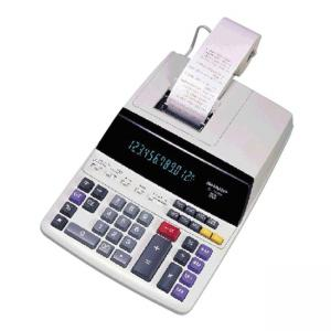 Sharp 12 Digit Printing Calculator - 12 Character - Fluorescent