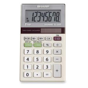 Sharp Pocket Handheld Business Calculator, 10-Digit LCD