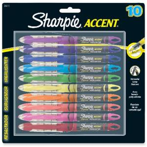 Sharpie Accent Liquid Pen Style Highlighter Assorted Colors