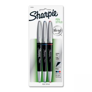 Sharpie Grip Ballpoint Pens - 3 / Pack