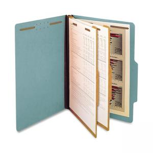 SJ Paper Classification Folder - 15 / Box - Blue