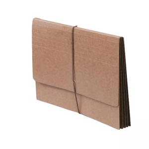 SJ Paper Full Height Expanding Wallet - Redrope - 1 Each