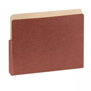 SJ Paper Red Wallet Expanding Pockets - 50 / Box