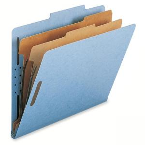 Smead Recycled Classification File Folder - Blue - 10/Box