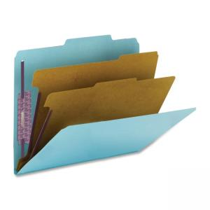 Smead PressGuard  Classification Folder - 10 / Box - Blue