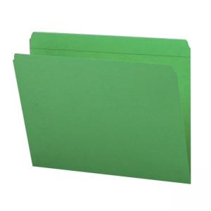 Smead Assorted Two Ply Tabs Straight Cut Folder