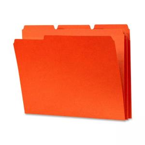 Smead Colored File Folder - Tab Cut on Assorted Position