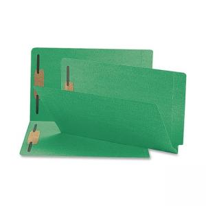 Smead Colored Folder with Fastener 50 / Box - Green