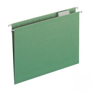 Smead Colored Hanging Folder - 25 / Box - Green
