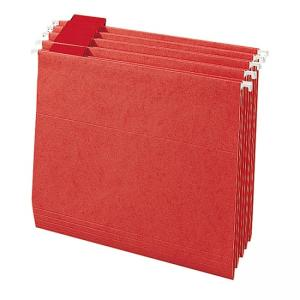 Smead Colored Hanging Folder 25 / Box - Red