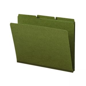 "Smead Colored Pressboard Folder - 8.5"" x 11"""