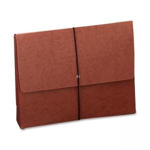 Smead Expanding Width File Folder Wallet - 1 Each - Red
