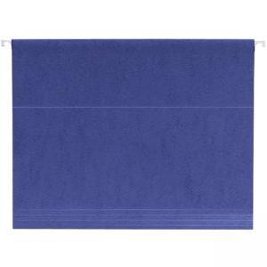 Smead Letter Size Hanging File Folder - 25 / Box - Navy Blue