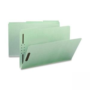 "Smead Pressboard Fastener Folder - 8.5"" x 14"" - 1"" Expansion"