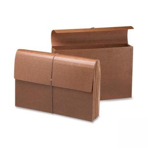 Smead Recycled Leather Expanding Wallet - 1 Each