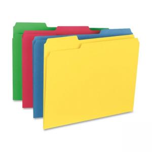 Smead Top Tab File Folder - 1/3 Cut on Assorted Position