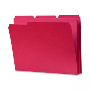Smead Top Tab File Folder - Red