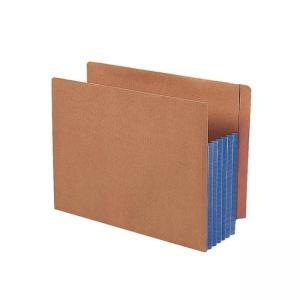 Smead TUFF Pocket End Tab File Pocket - 10 / Box - Blue