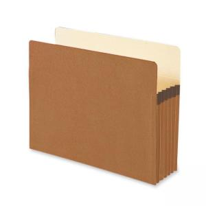 Smead TUFF Pocket Expanding File Pocket - 10 / Box - Manila