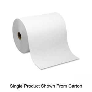 SofPull 26470 Hardwound Roll Paper Towel - 1 Ply - 6 / Carton - White