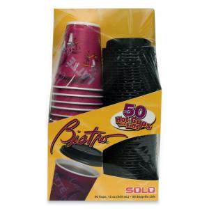 Solo Bistro Hot Cup - 12 oz - 50 / Pack