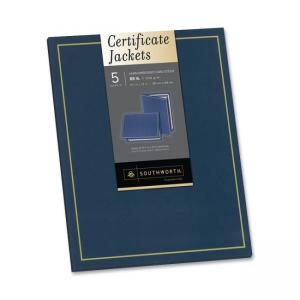 Southworth Certificate Jacket - Navy Blue - 5 / Pack