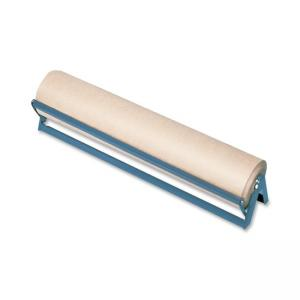 Sparco Horizontal Paper Rack with Cutter - Brown - 1 Roll Capacity