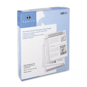 Sparco 3-hole Punched Multipurpose Copy Paper - 500 / Ream - White