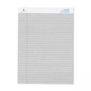 "Sparco Gray Legal Ruled Pad - 8.50"" x 11.75"""