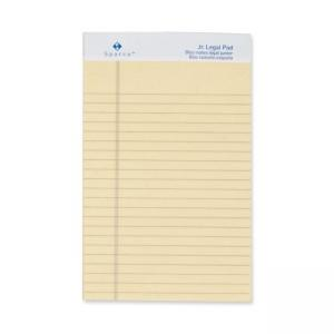 "Sparco Ivory Ruled Jr.Legal Pad - 5"" x 8"""