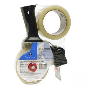 Sparco Two Roll Packaging Tape with Pistol Grip Dispenser - 2""