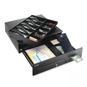 Steelmaster Cash Drawer - Black